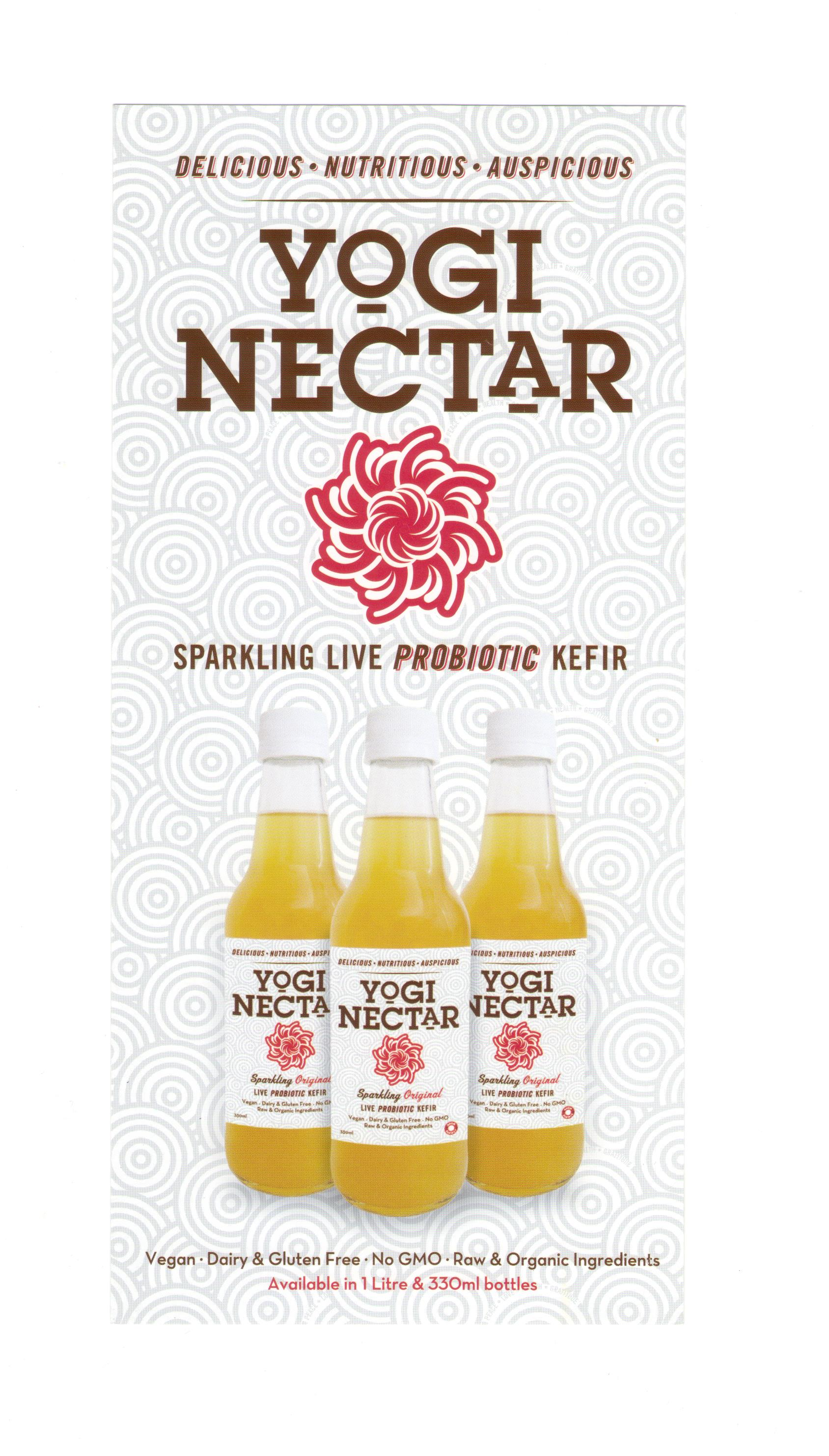 Gluten Free Fizzy Drinks Yogi Nectar